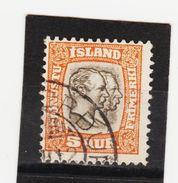 MAG1442  ISLAND 1907  Michl 26 DIENST Used / Gestempelt  ZÄHNUNG Siehe ABBILDUNG - Dienstpost