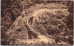 AFRIQUE -- CAMEROUN -- Yaoudé Chemin De Fer Du Centre - Le Pont En Courbe - Cameroon