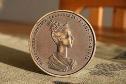 Österreich, Maria Anna Augusta Ferdinandi I, Medaille Prag 1836, - Oesterreich