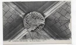 LUXEUIL LES BAINS - N° 102 - LES TROIS POISSONS - USURE A DROITE - CPA NON VOYAGEE - Luxeuil Les Bains