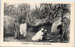 AFRIQUE -- CAMEROUN --  Repas Dans Un Village Haoussa - Camerún