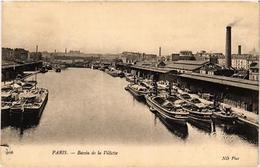 CPA PARIS (19e) Bassin De La Villette. (537899) - Arrondissement: 19