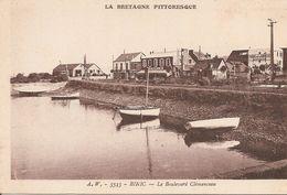 22 Côtes D' Armor  :   Binic  Le Boulevard Clémenceau 3483 - Binic