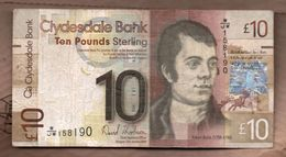 ESCOCIA - SCOTLAND 10 POUNDS 2009 - 1 Pound