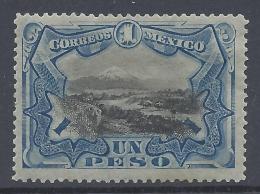 MEXICO 1899 POPOCATEPETI 1p BLUE Nº 188 - México