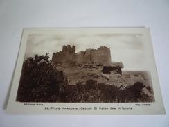 MAROC MARRUECOS MOROCCO - CASBAH EL KELAA DES M'GOUNA - ATLAS MAROCAIN - EDITION MARS - PHOTO - 1935 STAMP MOULAY IDRISS - Autres