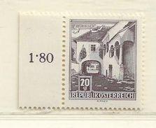 AUTRICHE  ( MD - 151 )  1957  N° YVERT ET TELLIER   N° 869AA  N** - 1945-.... 2ème République