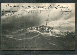 """CPA - """"JEAN BART"""", Cuirassé Français De 1er Rang - Branle Bas De Combat Par Grosse Mer - Krieg"""