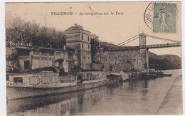 Villemur. La Navigation Sur Le Tarn - France
