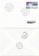 TAAF - FDC Obl. 1er Jour. 25e Anniv. Station Charcot 1981. Dumont D'Urville-Terre Adélie Yv. PA 65   ..Réf.TAF20871 - Terres Australes Et Antarctiques Françaises (TAAF)