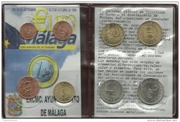 EUROS SERIE PRUBAS DE CHURRIANA . 01.10.98 EN PERFECTO ESTADO DE CONSERVACION. (EN VENTA) - [ 6] Ensayos Y Reacuñaciones