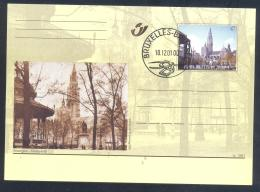Belgium 2001 Postal Stationery Card: Tourism Architecture Antwerpen; Groenplaats; Cathedral Of Our Lady (Antwerp) - Vacances & Tourisme