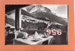 CPSM 14 X 9 * * MONTMIN * * Le Massif De L'ARCLOSAN Vu Du Restaurant Du Grand-Hôtel - France