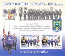 GENDARMERIE,MILITARIA,BLOCK 2010 MNH ROMANIA. - Police - Gendarmerie