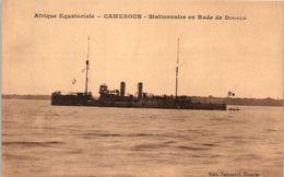 AFRIQUE - CAMEROUN - Stationnaire En Rade De Douala - Cameroon
