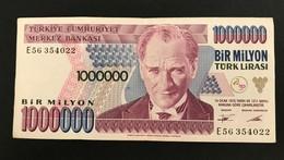 TURQUIE - Billet De 1.000.000 - 1970 - N°E56354022 - Turkey