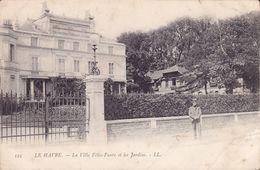 CPA - 76 - LE HAVRE - La Villa Félix Faure Et Les Jardins - 125 - Unclassified