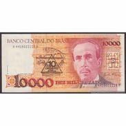 TWN - BRAZIL 218b - 10/10.000 Cruzados Novos/Cruzados 1990 Various Series - Signatures: Da Nobrega & Bucchi UNC - Brésil