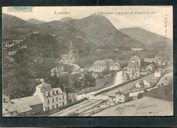 CPA - LOURDES - Vue Partielle - La Gare - Lourdes