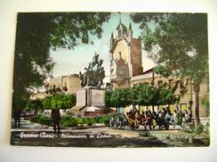 GRAVINA   Monumento Ai Caduti  BARI PUGLIA  VIAGGIATA  COME DA FOTO ACQUERELLATA - Bari