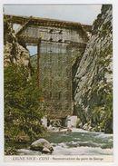 06 - Ligne Nice-Coni        Reconstruction Du Pont De Saorge - Sin Clasificación