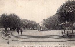 B35900 Luçon, La Place Belle Croix - Non Classificati