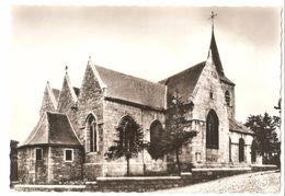 Montignies-le-Tilleul - Eglise St. Martin - Extérieur - Sacristie De 1760 - éd. Leclercq-Quoidbach - Photo Véritable - Montigny-le-Tilleul