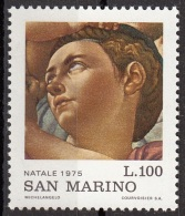 "957 San Marino 1975 ""La Sacra Famiglia (Tondo Doni) Dettaglio"" Quadro Dipinto Michelangelo Buonarotti Paintings MNH - Quadri"