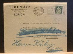 69/874  LETTRE  SUISSE POUR ALLEMAGNE  1933 - Lettres & Documents