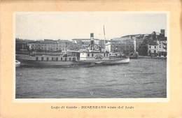 BATEAU DE PROMENADE ( Italia - Lago Di Garda) DESENZANO : Visto Dal Lago - Sightseeing Boat Ausflugsboot : - CPSM GF - - Sonstige