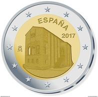 """ESPAÑA  2 €UROS 2.017   2017 Bimetalica  """"Santa María Del NARANCO""""  SC/UNC  T-DL-12.044 - España"""
