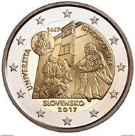 """ESLOVAQUIA  2€ 2.017  2017 """"550º Aniversario De La Creacion De La Universidad Istropolitana"""" Bimetalic SC  T-DL-12. - Slovakia"""