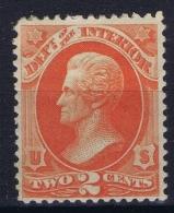 USA 1873 Official, Interior Sc O16 1873 Official, Interior - Officials