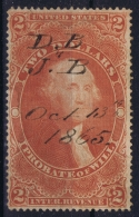 USA Revenue Fiscaux Fiscal Stamp Sc Nr R83 Used - Revenues