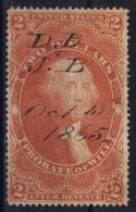 USA Revenue Fiscaux Fiscal Stamp Sc Nr R83 Used - Steuermarken