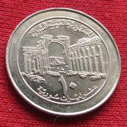 Syria 10 Pounds 1996 KM# 124 Siria Syrie - Syrie