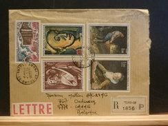 69/885  LETTRE RECOMM. POUR LA BELG.  1972 - Marcophilie (Lettres)
