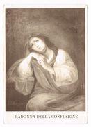 Italia - Immagine Antica Madonna Della Confusione Con Preghiera Che Si Venera Nella Parrocchia S. Anna Di Alcamo. (PA) - Santini