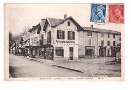 40 Morcenx Place Aristide Briand Commerce Patisserie Confiserie Cpa Cachet Morcenx 1940 - Morcenx