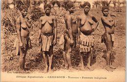 AFRIQUE -- CAMEROUN - Yaounde - Femme Indigènes - Cameroon