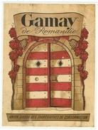 Rare // Etiquette // Gamay De Romandie, Union Des Coopératives De Consommation, Vaud // Suisse - Etiquettes