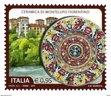 Italia Repubblica 2017 Ceramica Di Montelupo Fiorentino € 0,95 MNH** Integro - 2011-...:  Nuovi