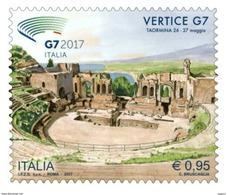 Italia Repubblica 2017 Vertice Dei G7 € 0,95 MNH** Integro - 2011-...:  Nuovi