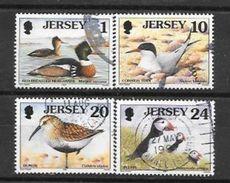 Jersey N° 759 760 762 763  YVERT OBLITERE - Jersey