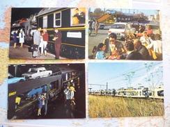 Train Autos Couchettes 4 Cartes - Trains