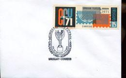 25567 Uruguay, Special Postmark 2005,  Rimet Cup - Brieven En Documenten