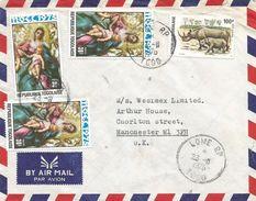Togo 1976 Lome El Greco Painter Rhino Cover - Togo (1960-...)