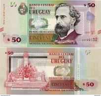 URUGUAY      50 Pesos Urug.    P-94       2015       UNC - Uruguay