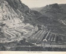 1955 - Iconographie - Tarascon-sur-Ariège (Ariège) - L'usine De Sabart - FRANCO DE PORT - Alte Papiere