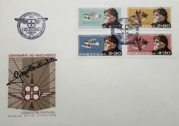 PORTUGAL, FDC AF 1055-58 Yv 1065-68, Available Cancels L / P. - FDC